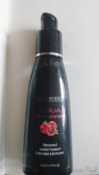 Wicked Aqua Pomegranate Flavoured Lube Review