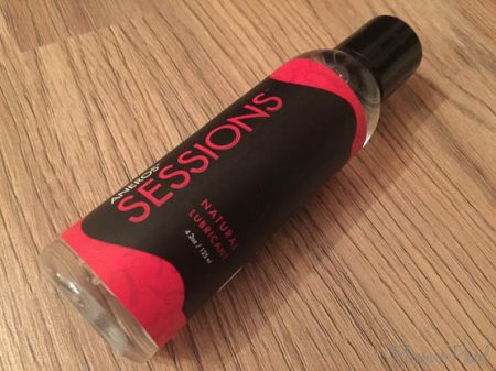 Aneros Sessions Water Based Lubricant Review