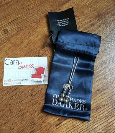 Fifty Shades Darker Just Sensation Beaded Clitoral Clamp Review