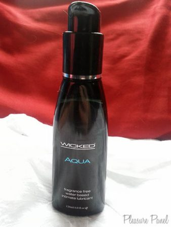 Wicked Aqua Lube Review Wicked Sensual Care Lubricants