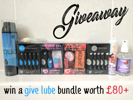 Win Give Lube Bundle Worth £80+ A Give Pleasure Products Giveaway