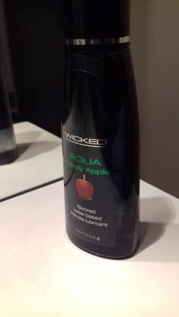 Wicked Aqua Candy Apple Flavoured Lube Review