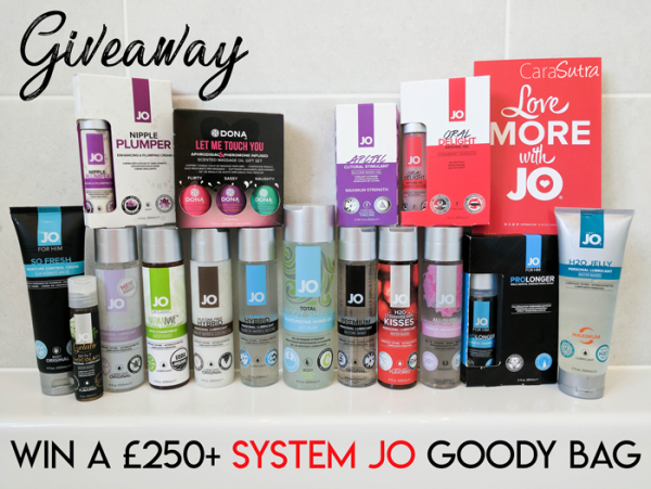 Win a free System JO Goody Bag Cara Sutra Giveaway Summer of Love 2017