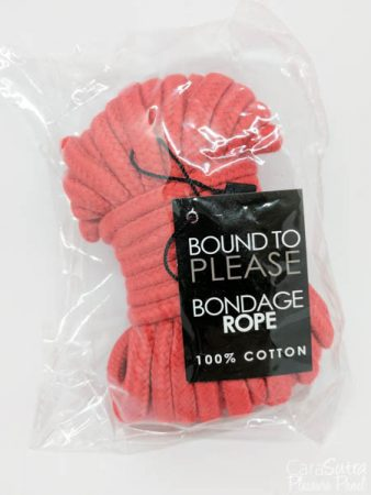 Loving Joy Bound to Please Red Cotton Bondage Rope Review