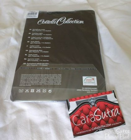 Cottelli Sheer Crotchless Tights Review