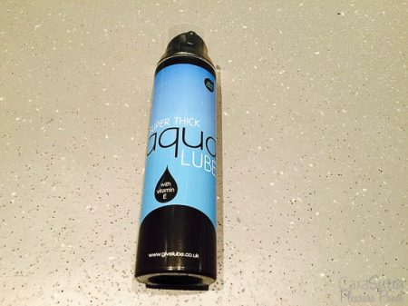 Give Lube Super Thick Aqua Lube Review NatandTom