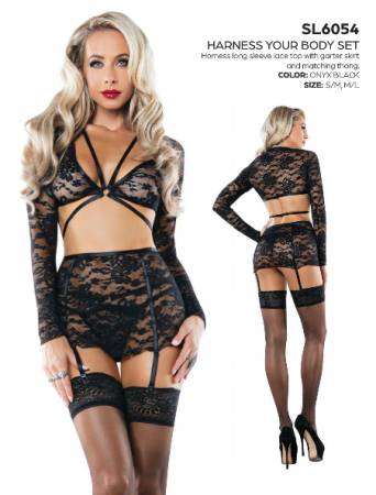 Starline Harness Your Body Lingerie Set Review