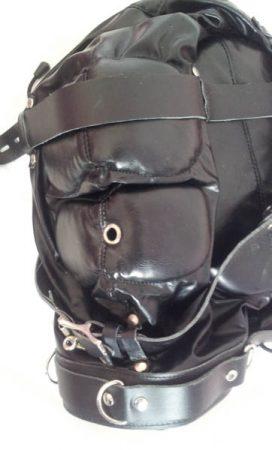 UberKinky Sensory Deprivation Leather Bondage Hood Review