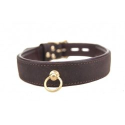 Loving Joy Bound Nubuck Leather Choker with O Ring Review