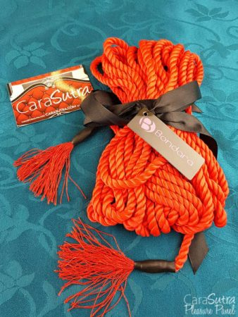 Bondara Red Bondage Rope with Tassels Review