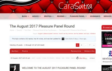 How To Join The Pleasure Panel and Become A Sex Toy Tester
