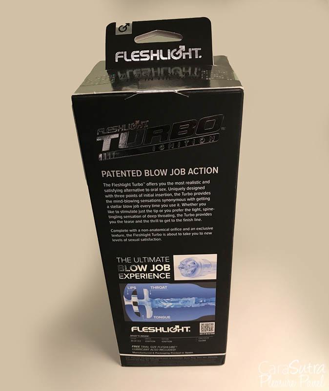 Fleshlight Turbo Ignition Blue Ice Masturbator Review