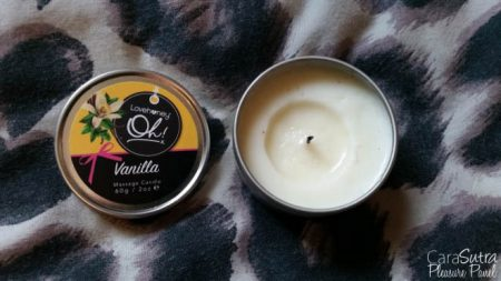 Lovehoney Oh Vanilla Massage Candle Review