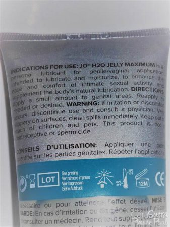 System JO H2O Jelly Water Based Personal Lubricant Review