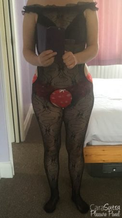 Bondara Ruffle Neck Crotchless Bodystocking Review
