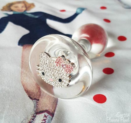 Crystal Delights Medallion Plug Review Unicorn Heart and Hello Kitty Butt Plug Review