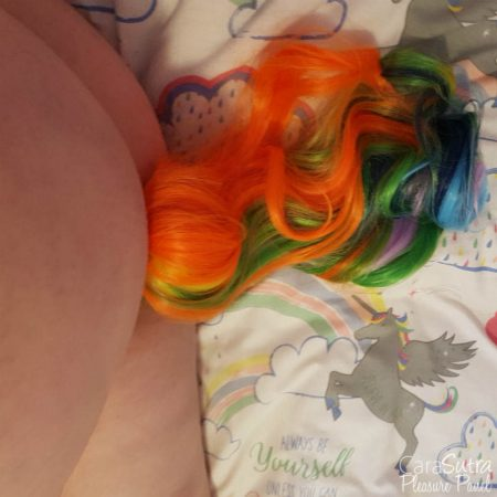 Crystal Delights Primary 5 Color Detachable Faux Pony Tail Plug Review