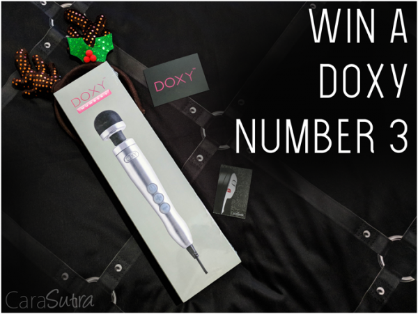 Giveaway: Win the Brand New & Awesome Doxy Number Three Wand Vibrator