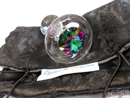 Crystal Delights Clear Green Sphinx Butt Plug Review