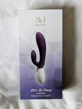 So Divine Let's Go Crazy Heating Rechargeable Rabbit Vibrator Review