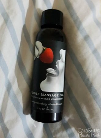 Earthly Body Strawberry Edible Massage Oil Review