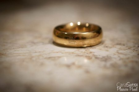 Fifty Shades Freed I Want You Now Steel Love RingReview