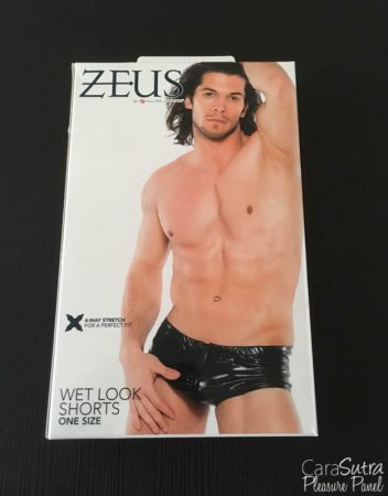Allure Zeus Wet Look Zip Front Boxer Shorts Review