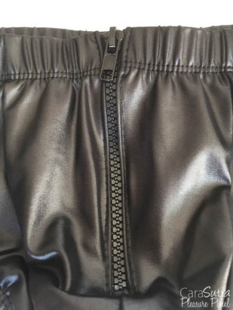 Allure Zeus Wet Look Zip Front Boxer ShortsReview