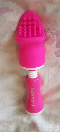 Bodywand Mini Vibrating Massage Wand Vibrator With Nubby and G-Kiss Attachments Review
