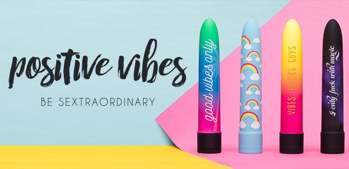 Lovehoney positive vibes launch offer