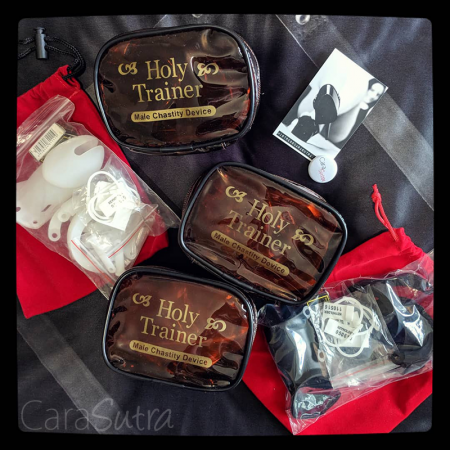 House of Denial Holy Trainer V2 Small Clear Chastity Device Review