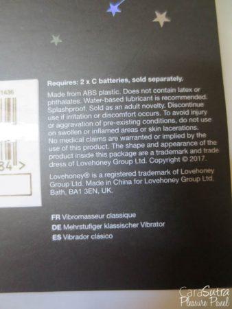 Lovehoney Positive Vibes Rainbow Classic Vibrator Review