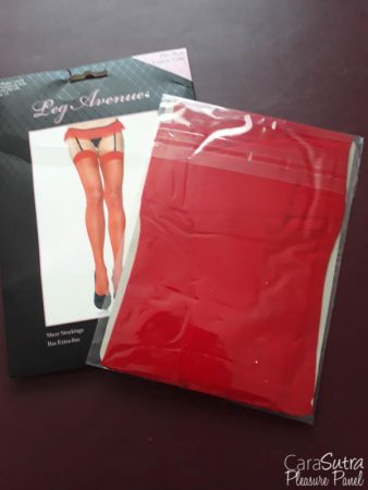 Leg Avenue Red Plus Size Sheer Stockings Review