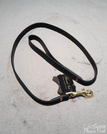 Loving Joy Bound Noir Nubuck Leather Leash Review