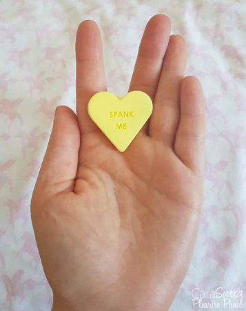 Blush Novelties Naughty Candy Hearts Spank Me Butt Plug Review