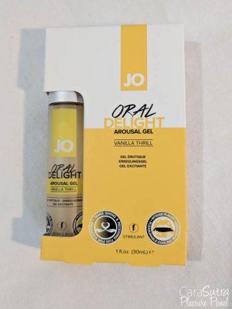 System JO Oral Delight Arousal Gel Vanilla Thrill Review