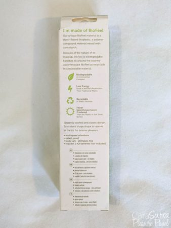 Blush Novelties Gaia Biodegradable Eco-Friendly Green Vibrator Review