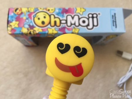 Lovehoney Oh-Moji Tongue Out Rechargeable Mini Wand Vibrator Review