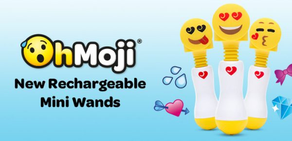 Lovehoney Oh-Moji Heart Eyes Rechargeable Mini Wand Vibrator Review