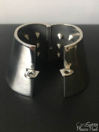 Iron Maiden 2.0 Spiked Metal Cock Ring And Ball Stretcher Review