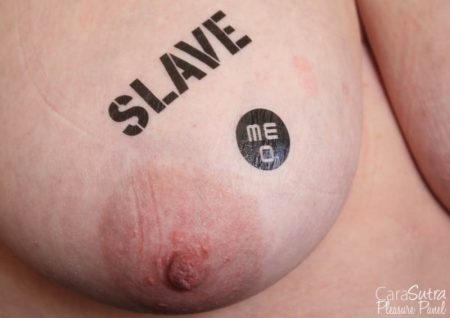 Kinky BDSM Bondage Temporary Tattoos Review (Slave, Bitch, Slut, Pig)