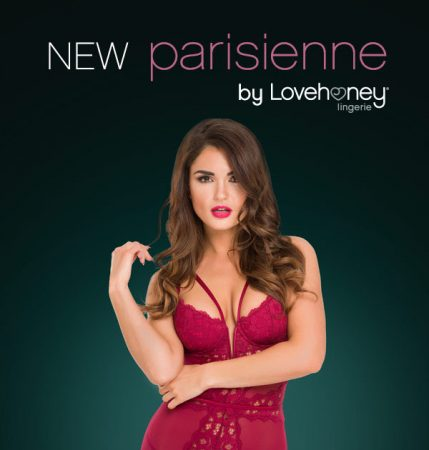 Lovehoney Parisienne Wine Plunge Longline Bra Set Review