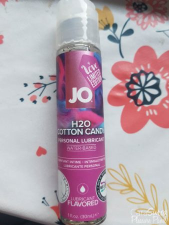 System JO H2O Lube Cotton Candy Flavoured Lube Review