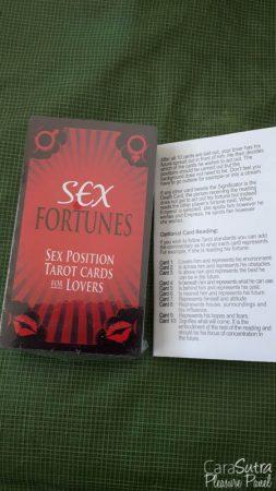 Kheper Games Sex Fortunes Erotic Tarot Card Game Review