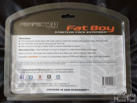 Perfect Fit Fat Boy Penis Extender 7.5 Inch Review