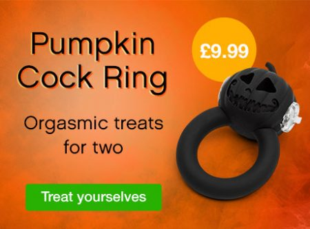 Halloween Party Pumpkin Vibrating Cock Ring Review