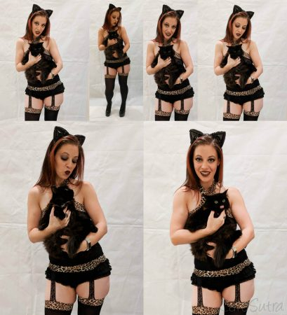 Lovehoney Kinky Kitten Bundle Halloween Sexy Cat Costume Lingerie Review