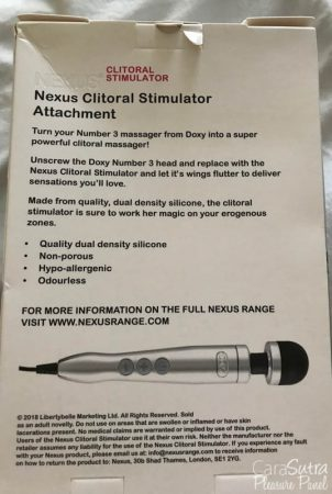Doxy 3 Clitoral Stimulator Attachment Review