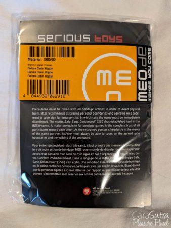 MEO Deluxe Steel Hogtie Bondage Connector Review