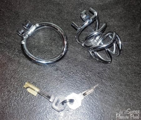 Oxy Shop Stainless Steel Chastity Cage CH32 Review